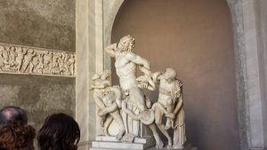 This guy tried to warn the Trojans not to accept the horse. So one of the gods sent a snake to eat him and his sons.