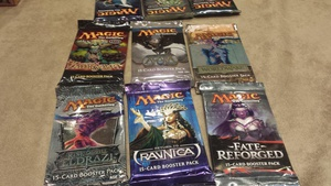 Since I didnt q for day 2 I just played some chaos sealed instead #gpsing