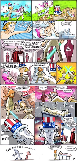 One of the better Sinfest strips. Click for full-size.