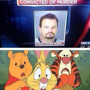 This made the rounds, but not with Christopher's friends' reactions. Child stars always have it tough. Oh bother....