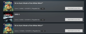 Posted on r/PS3: I bought Ni No Kuni during the sale and there are two of them on my download list, am I supposed to download both?