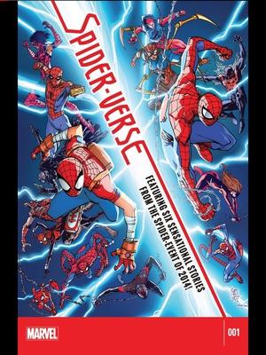 Spider-Verse (2014) #1 cover by Antonio Fabela