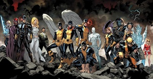 All-New X-Men #1 connecting covers by Stuart Immonen