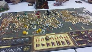 Surprise Game of Thrones boardgame night!
