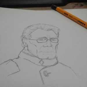 Bill Adama #bsg #sketchdaily