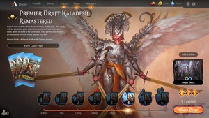 Kaladesh Remastered draft ep 1 https://www.twitch.tv/twitchyroy #mtg #magicarena #twitch #mtgkld Sadly, internet wasn't too good so I just cut the stream short. Too bad, so sad Draft didn't feel super good, but I managed to break even in the games. No video because no stream. (In hindsight I could have just recorded locally!) Maybe I'll try streaming a draft again early next week.