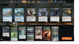 Ikoria draft no. 14 https://www.twitch.tv/twitchyroy #mtg #magicarena #mtgiko #twitch I totally screwed up the broadcast for this draft due to playing around with some settings. Still exported to Youtube anyway: https://www.youtube.com/watch?v=0Uqnm9t3U6c (The draft itself also went poorly!) I got disconnected too! Then I played one more so here is draft no. 15: https://www.youtube.com/watch?v=9Mbmyqm-_NM It also did not go well, though I liked this deck better.