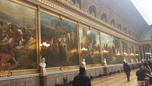 The Hall of Battles was easily my favorite thing in the Chateau, I paid attention to each of the battles/paintings discussed by the audioguide. Typically, I have already forgotten most of the information, but I was well entertained