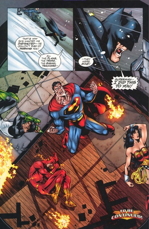 JLA v3 #44 Tower of Babel part 2 of 4 by Mark Waid and Howard Porter