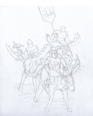The Tlavonian Republic is located in the temperate regions of the the largest continent, of which it is the most powerful civilization. They are best known for their domestication of moose, which they use for Cavalry. https://www.reddit.com/r/worldbuilding/comments/4gvmur/lets_invent_civilizations_together/d2l39yf