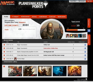 It's the end of an era: Wizards is sunsetting PWPs and DCI numbers https://www.wizards.com/Magic/PlaneswalkerPoints/36918016 I had exported my own PWP data and DCI match history already, but posting here for posterity: If you're looking to export your own data for any reason, I found this script: https://github.com/giventofly/exportpwp/blob/master/README.md from https://www.reddit.com/user/heyzeto/ to export everything to a CSV, I tried it and it's pretty good! (I can't recommend my own code, it's super messy!) More of my own data, lifetime ranking: 230th in the PH isn't so bad, given how inconsistently I'd played through the years. (I tried to get my worldwide ranking