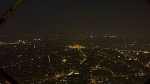 View of Paris from the top