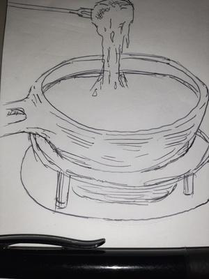 Fondue? 14/365 #sketchdaily