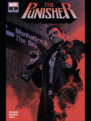 Punisher (2018) #1 cover by Greg Smallwood