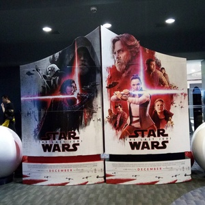 What if instead of christmas parties, companies held christmas #starwars screenings?