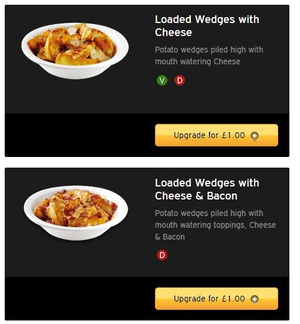 So they cost the same...but one of them has bacon. Is this a trick question?