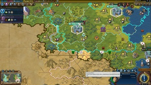 Posted on r/civ: How does Mimar Sinan's activated ability work? If I activate it in a city, then that city completes an Industrial District bordering another civ, it flips those tiles over to me? (It seems weird to do it this way instead of just activating over an existing Industrial District to flip adjacent tiles)