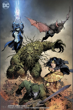 Justice League Dark #2 Greg Capullo variant cover