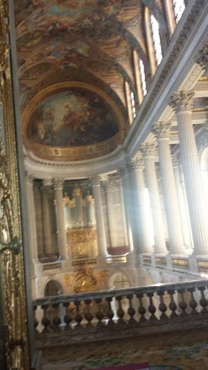 Chapel inside the chateau