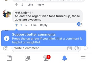WOAH...! Facebook is rolling out its Reddit-style Up / Down votes for comments h/t @earleyedition