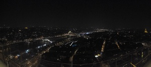 Panoramic view from atop the tower. Please excuse my poor camera skillz