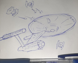 Shields up! #sketchdaily 44/365