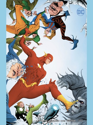 The Flash #62 variant cover by Jae Lee