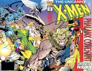 Uncanny X-men #316 cover by Joe Madureira