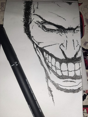 Inktober 2020 day 8: TEETH Official prompt list: https://inktober.com/rules
