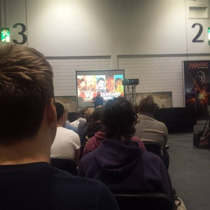 Rich Hagon's magic game show was pretty fun lol #gplondon