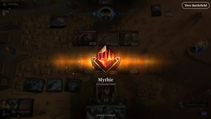 Last minute mythic on #magicarena. Also hit master on Eternal last week, so it's my first double month! #mtg