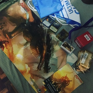 #gpmanila loot. Maybe next time I should stick to side events lol #mtg