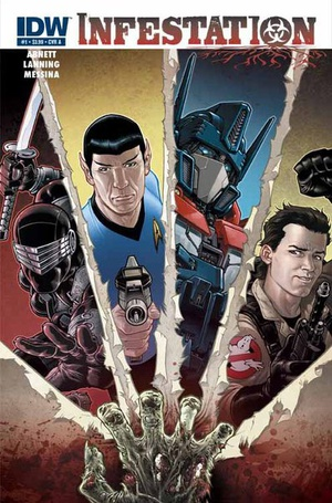 IDW Infestation: (GI Joe / Star Trek / Transformers / Ghostbusters crossover)
