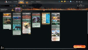 Streaming some late-night Kaldheim sealed! https://www.twitch.tv/twitchyroy #twitch #mtg #magicarena I ended up playing a dumb 3-color deck and only went 2-3 due to mana issues and being unable to kill big dudes. Draft next week probably! YT: https://www.youtube.com/watch?v=5Afau62kS1w