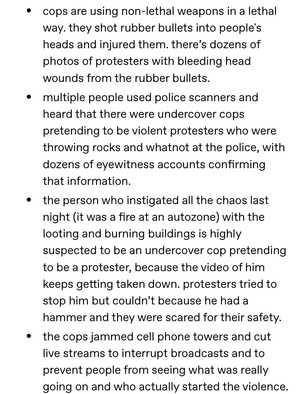 PLEASE EDUCATE YOURSELF ON WHY THE RIOTS IN MINNEAPOLIS STARTED