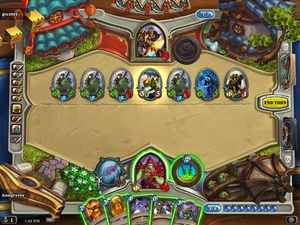 He started with a single murloc knight. Edi wow. #hearthstone