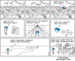 Reading other people's code! #True #Programming