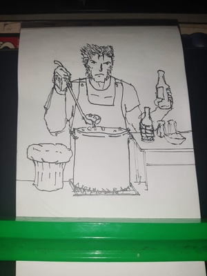 Inktober 2020 day 22: CHEF Official prompt list: https://inktober.com/rules
