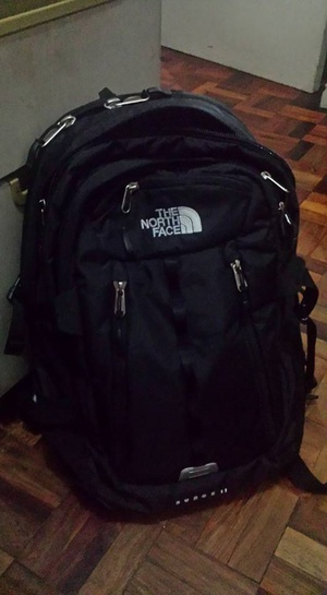 I haven't had a good backpack in a hwile so I decided to impulse buy a North Face one. These are more expensive than I would've expected but it seems pretty good