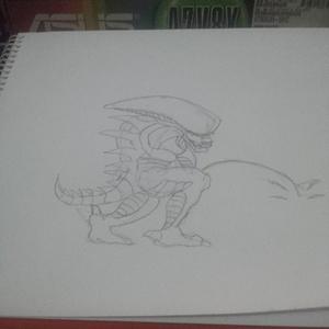 Alien #sketchdaily