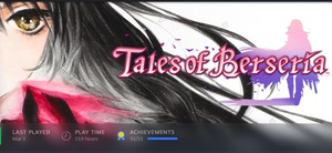 For the past month, most of my gaming time was spent on the Steam version of Tales of Berseria, which I got from a Humble Monthly Bundle back in 2018. Summary: One of the best entries in the Tales series. Has fun combat, a great cast, a darker story and a really good aesthetic. My notes: I'm a big fan of the Tales series of games, ever since Phantasia on the SNES and Destiny on the PS1, and I take the opportunity to play them whenever they come out for a console I actually have. I'm especially a fan of