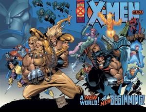 X-Men Alpha, cover by Joe Madureira and Tim Townsend