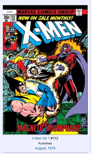 Pretty sure I've read every single issue of Uncanny, but I don't remember this one at all (And yes, I'm kind of old!) Quoted geneticghost's tweet: Name the X-Men comic that came out the month and year you were born. Here is mine!