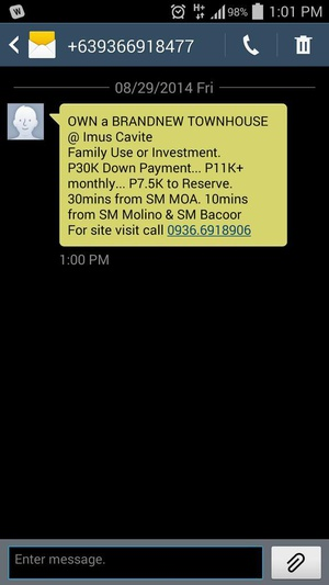 @talk2GLOBE here's today's spammer