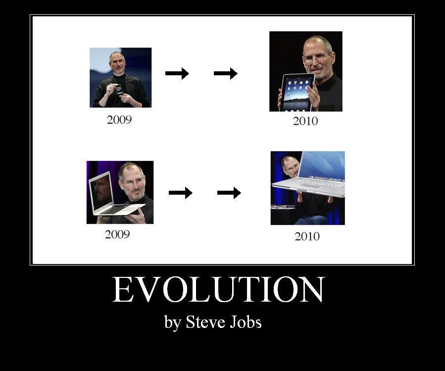 Evolution by Steve Jobs