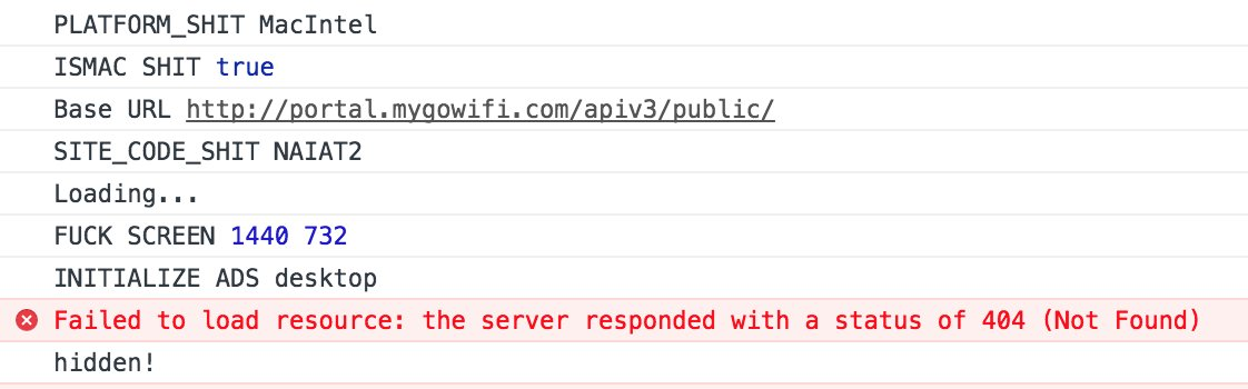 Found an angry developer when trying to connect to the free wifi at Manila International Airport.
