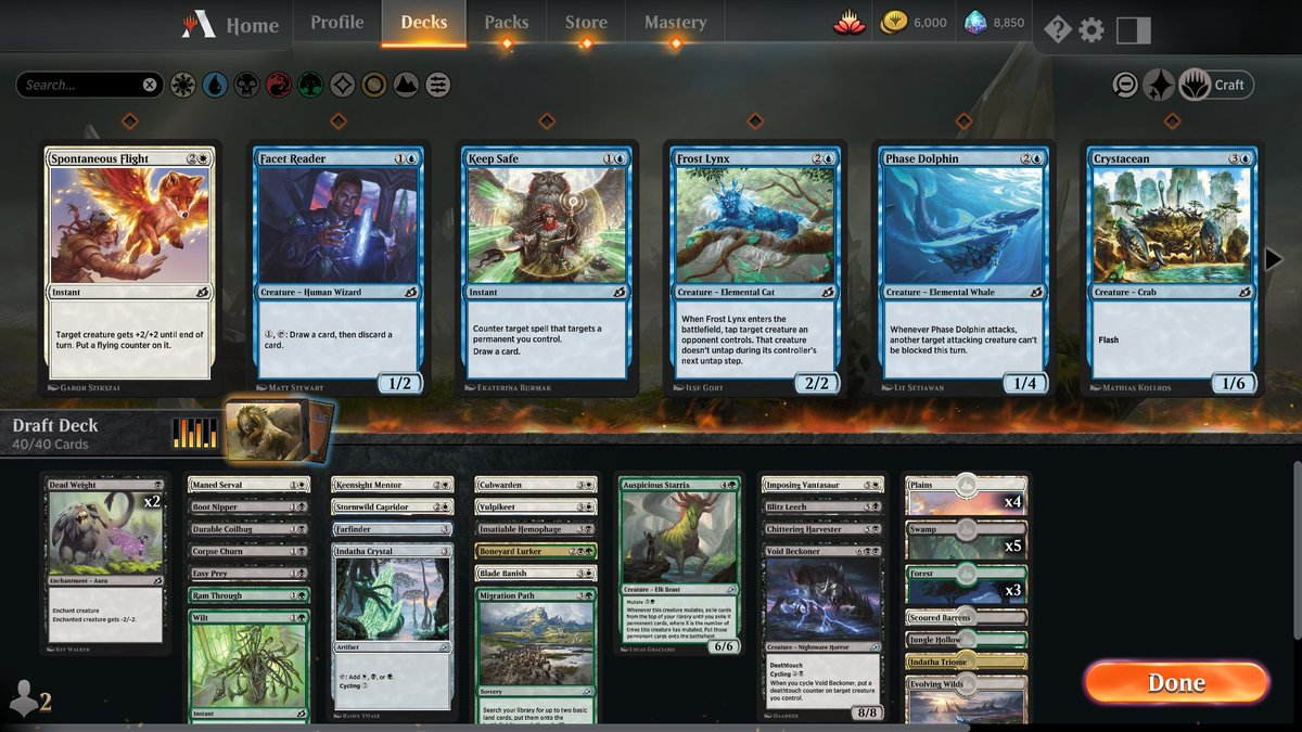 Ikoria draft no. 10 https://www.twitch.tv/twitchyroy #mtg #magicarena #twitch #mtgiko Not as good as the last one of course, but still pretty decent. Youtube: https://www.youtube.com/watch?v=olPqkl47BJk Oops, here's the draft deck