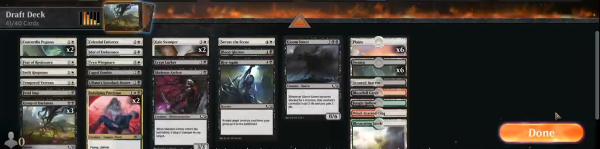 Casual M21 draft https://www.twitch.tv/twitchyroy #twitch #mtgarena #mtg Draft went reasonably well, all things considered. Lost 2 games to mana flood/screw, but that's fine. YT: https://www.youtube.com/watch?v=kXZO7Ukg5Xk