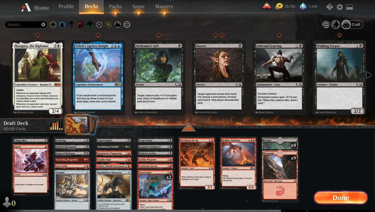 M21 draft Episode 5 https://www.twitch.tv/twitchyroy #mtg #magicarena #m21 #twitch Bleah. Went RB but it didn't go well. YT: https://www.youtube.com/watch?v=CSNpxY5NYoc