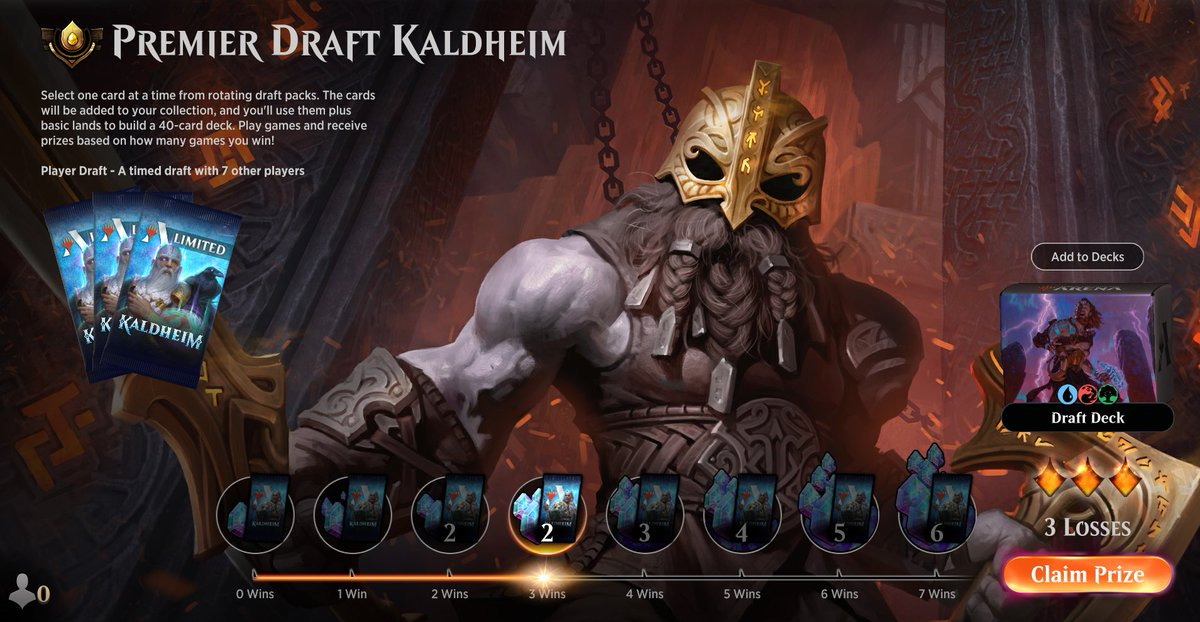 Drafting Kaldheim ep5 https://www.twitch.tv/twitchyroy Managed to do two drafts this time. One of them was a monowhite deck, while the other was a 3 color pile. Easy to predict which one did better. YT: https://www.youtube.com/watch?v=7XjAGkOPGk4